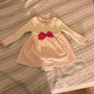 Kate Spade Fancy Occasion Dress Pink Bow